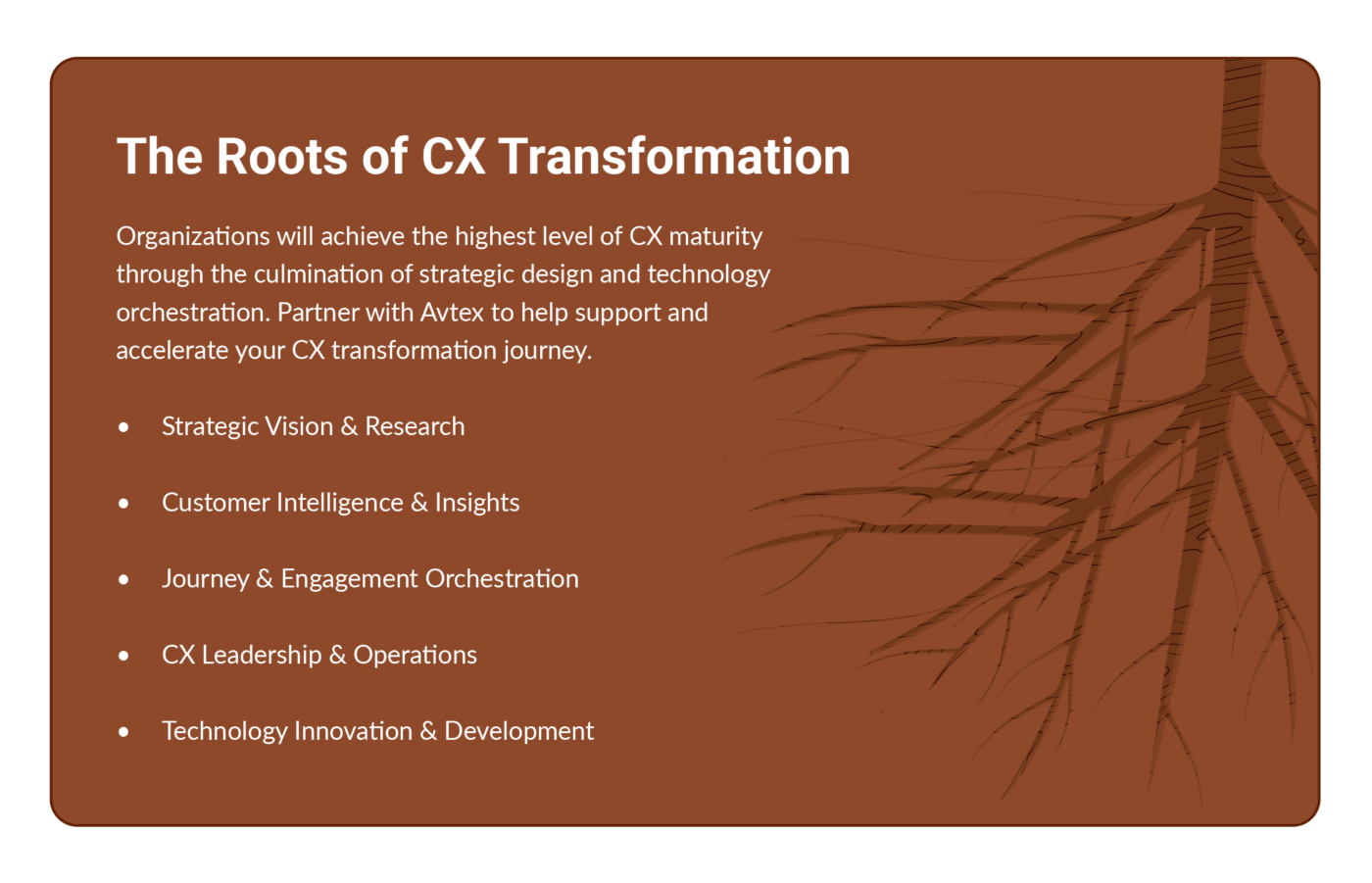 The Roots of CX Transformation Image