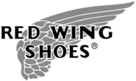 Red Wing Shoes Logo Greyscale