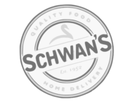 Schwans Home Delivery Logo Greyscale