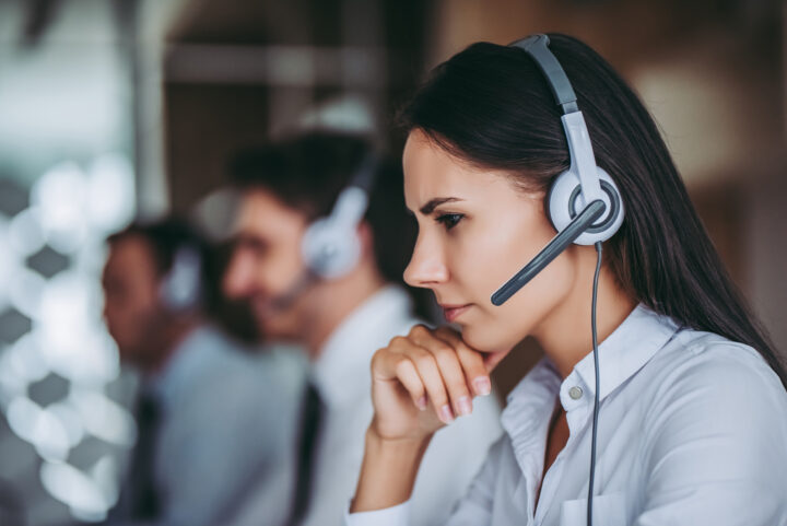 People in contact center