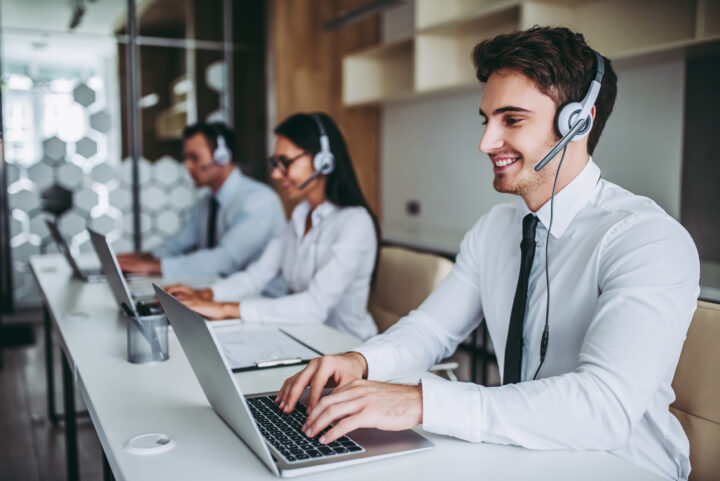 Agents in a contact center