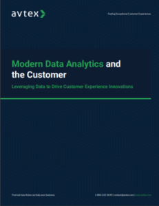 Modern data analytics and the customer thumbnail