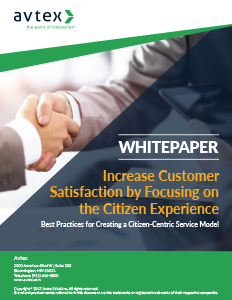 Increase customer satisfaction by focusing on the citizen experience thumbnail