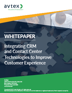 Integrating crm and contact center technologies to improve cx thumbnail