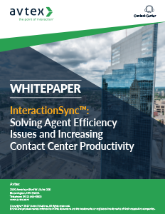 Interactionsync solving agent efficiency issues and increasing contact center productivity thumbnail