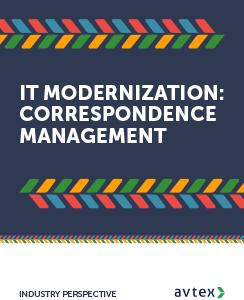 It modernization correspondence management thumbnail