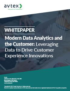 Modern data analytics and the customer thumbnail