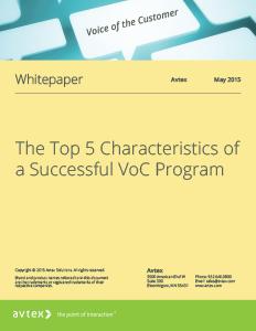 The top 5 characteristics of a successful voc program thumbnail