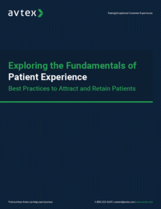 Exploring the fundamentals of patient experience thumbnail