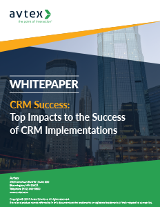 Top impacts to the success of crm implementations thumbnail
