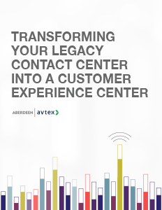 Transforming your legacy contact center into a customer experience center thumbnail